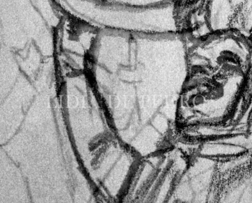 Lidia-de-Pedro_artist_The-Horned-man_sketch