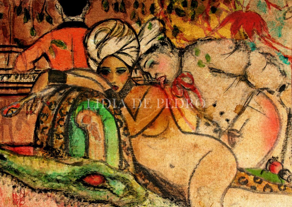 Lidia-de-Pedro_artist_Art-on-a-Postcard