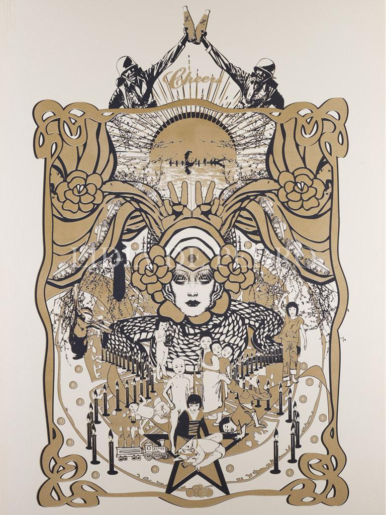 Lidia-de-Pedro_artist_Cheers_print