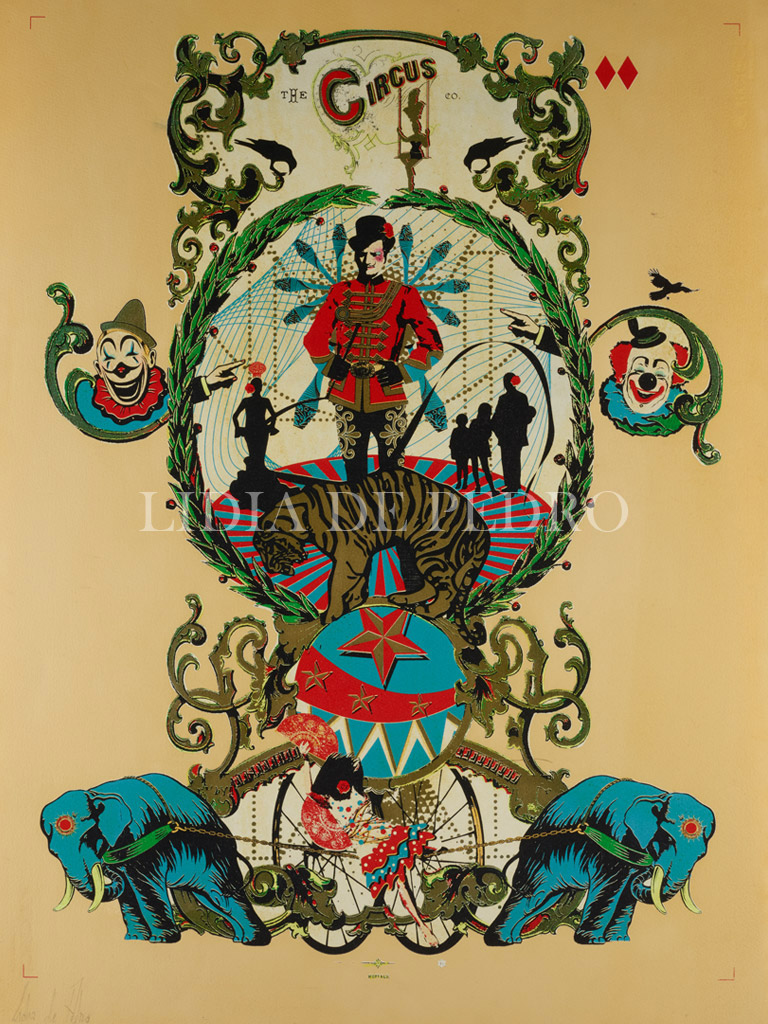 Lidia-de-Pedro_artist_Circus_print