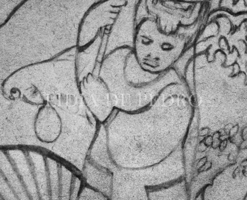 Lidia-de-Pedro_artist_Dog-Head-Fisherman_sketch