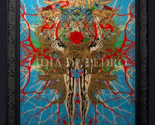 Lidia-de-Pedro_artist_Flowerpower_perspex