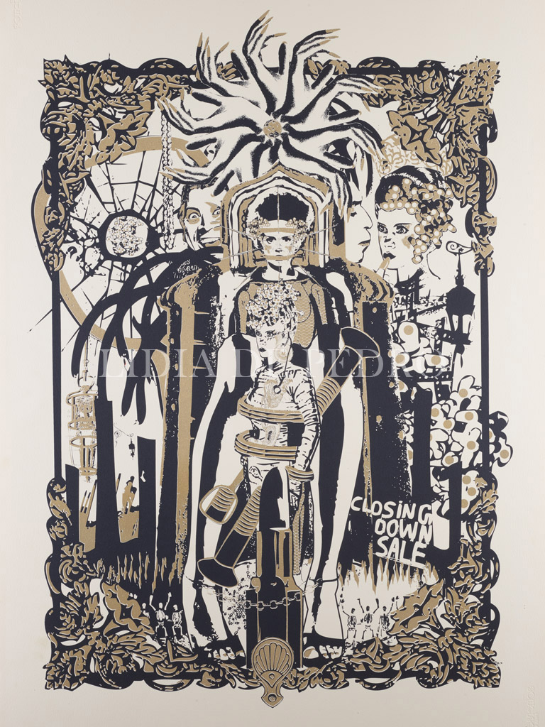 Lidia-de-Pedro_artist_Iron-Maiden_print